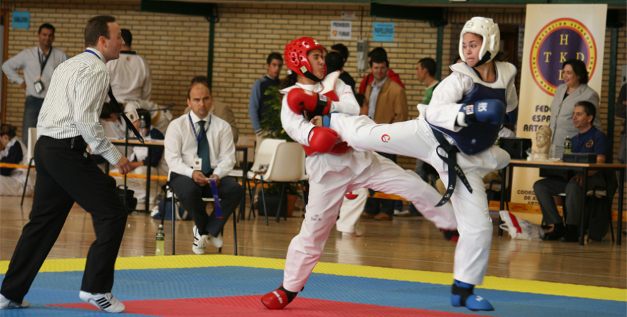 Taekwondo en Pino Montano