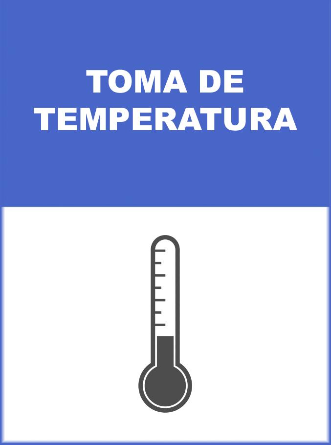 MEDIDA DE PREVENCION TOMA DE TEMPERATURA
