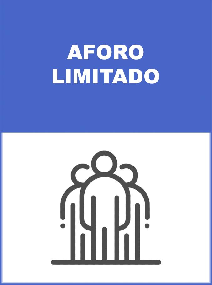 MEDIDA DE PREVENCION AFORO LIMITADO