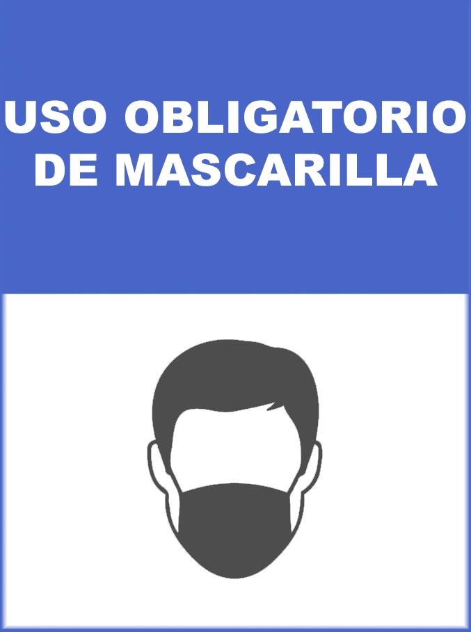 MEDIDA DE PREVENCION USO OBLIGATORIO DE MASCARILLA