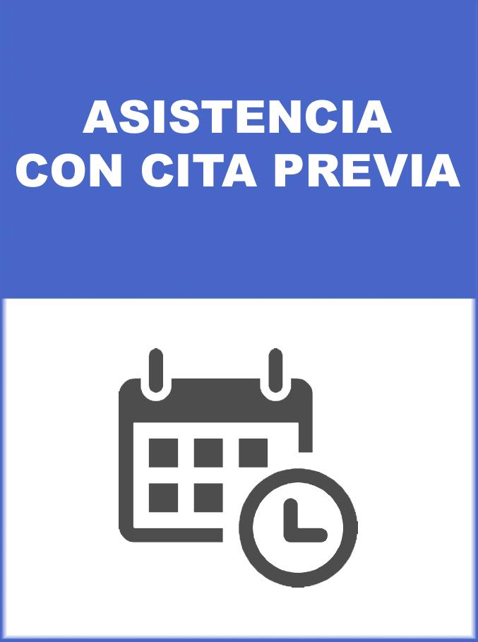 MEDIDA DE PREVENCION ASISTENCIA CON CITA PREVIA