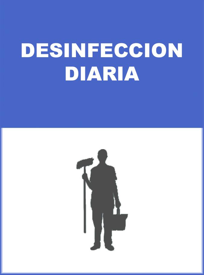 MEDIDA DE PREVENCION DESINFECCION DIARIA