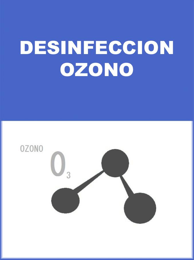 MEDIDA DE PREVENCION DESINFECCION OZONO