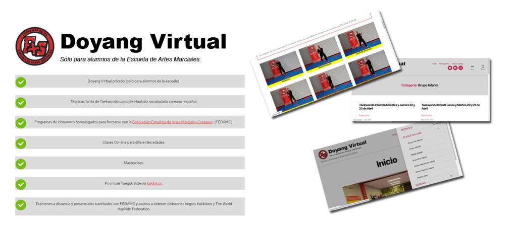 Doyang virtual solo para alumnos