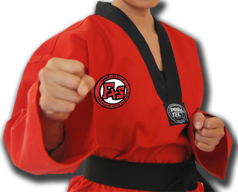 Dobla correctamente el traje de Taekwondo